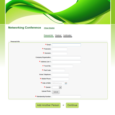 Sample Registration Forms Create a Registration Form – Registration Form Template Word