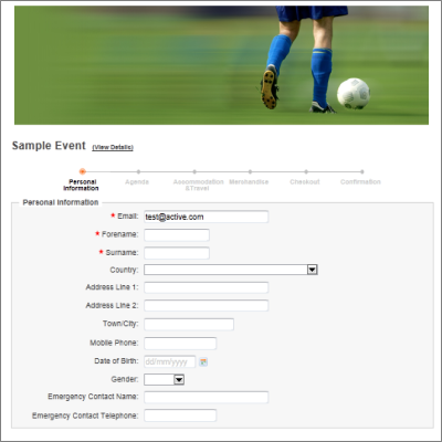 sports club software